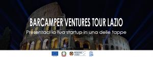 Barcamper Ventures arriva in Lazio