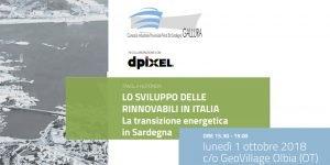 La transizione energetica in Sardegna: a Olbia si parla di energia rinnovabile
